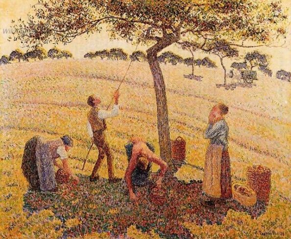 Get the October HOROSCOPE for my tips on making it in your field. by Pissarro 1887 {{PD}}